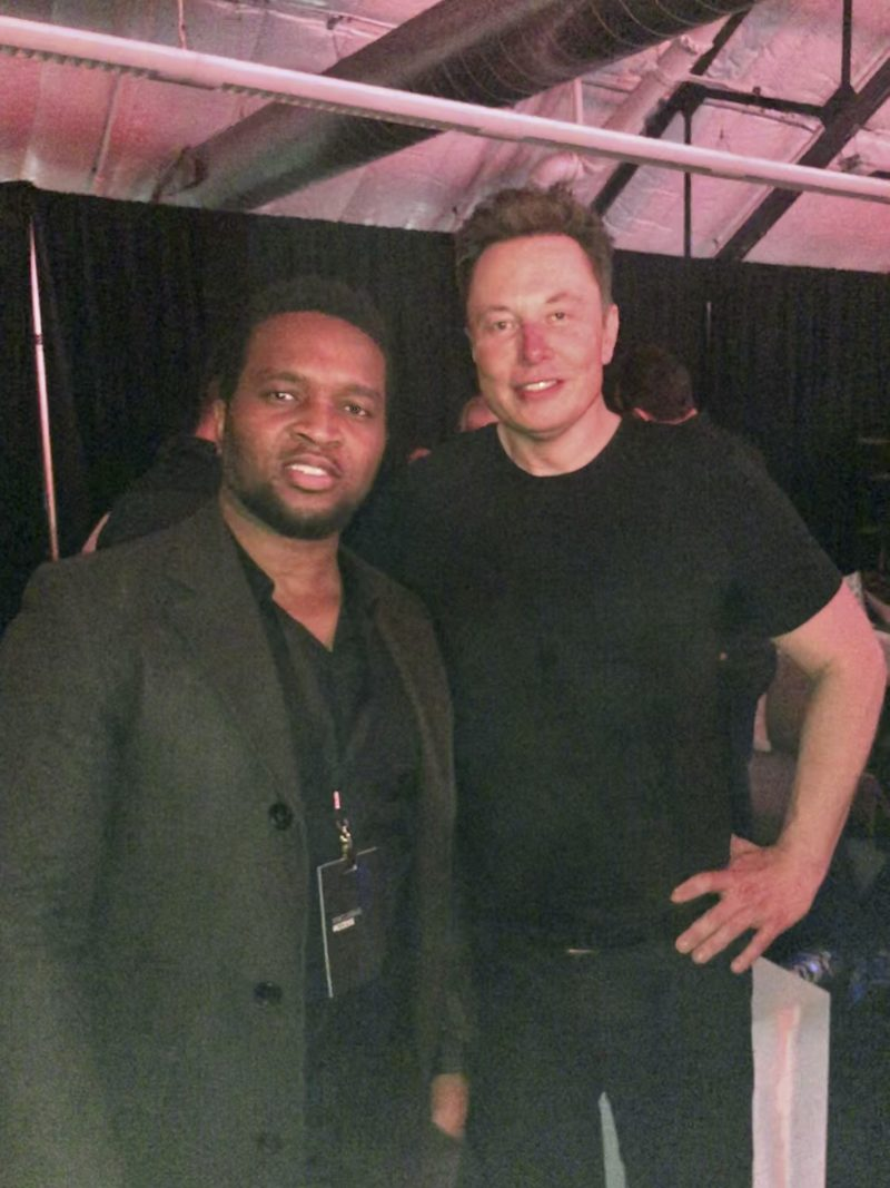 Riz and Elon Musk - Cybertruck Unveiling.