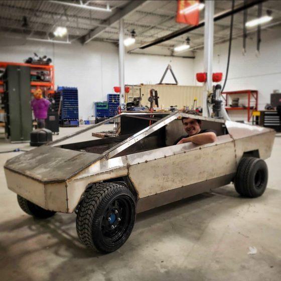 Tesla Cybertruck 1:2 Scale