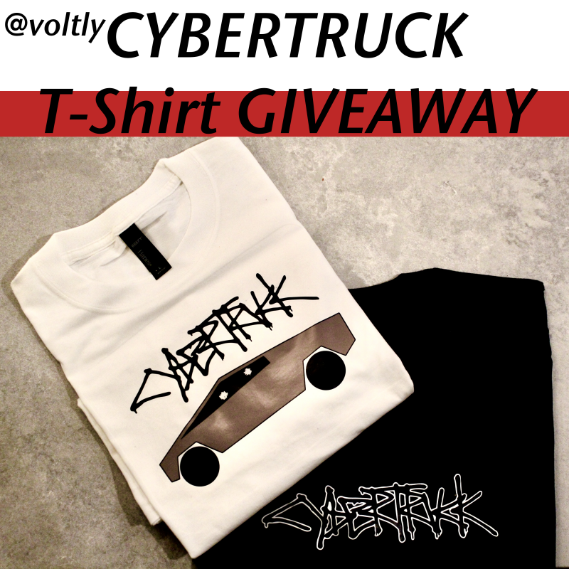 Cybertruck T-Shirt Giveaway