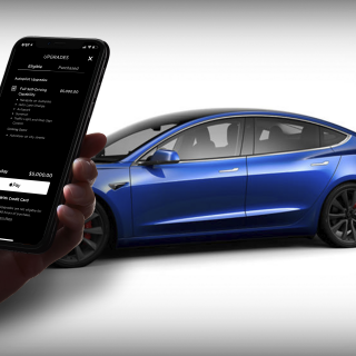 tesla in-app purchase